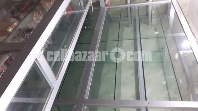 Thai Aluminium & Glass Shelf For Shop Decoration - 1/2