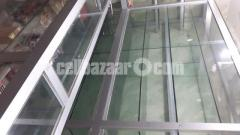 Thai Aluminium & Glass Shelf For Shop Decoration - Image 1/2