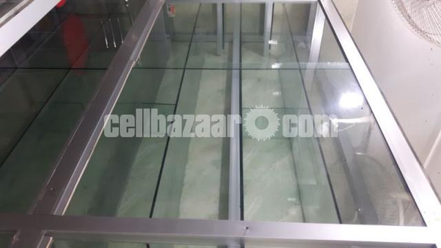 Thai Aluminium & Glass Shelf For Shop Decoration - 2/2