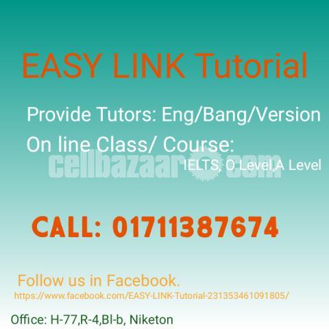 Tutors available: English/ Bangla - 1/1