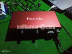 Audio Interface focusrite 2i2 3rd gen
