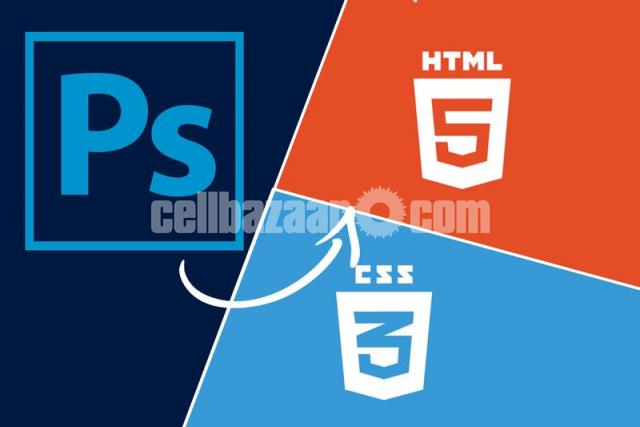 PSD TO HTML/CSS - 1/1