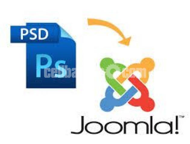 PSD TO JOOMLA - 1/1