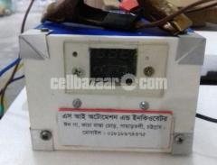 Incubator controller box