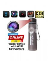 Spy Camera 4K Portable Water Bottle Live Wifi IP Cam Hidden Camcorders
