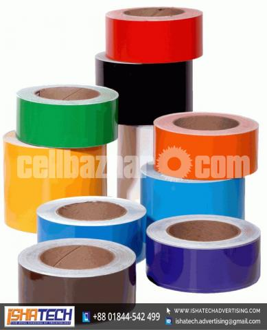 Floor Marking Color Tape Garment Other Office for Outdoor and Indoor Advertising - 1/5