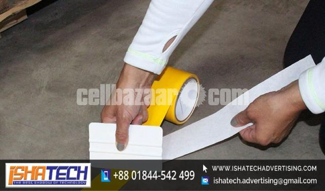 Floor Marking Color Tape Garment Other Office for Outdoor and Indoor Advertising - 3/5