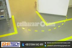 Floor Marking Color Tape Garment Other Office for Outdoor and Indoor Advertising - Image 5/5