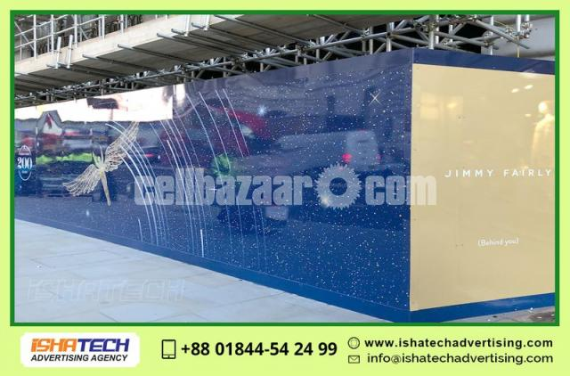 Plant Sheet Project Fencing Wall Boundary Paint Advertising Branding Indoor Outdoor Wall - 3/3