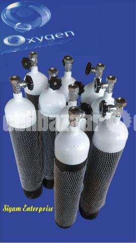 Medical oxygen cylinder sell and rent model:oc3/20 - 2/3