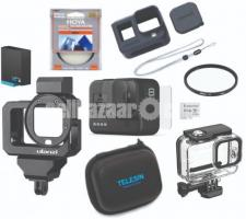 GoPro Hero 8 Black with accessories