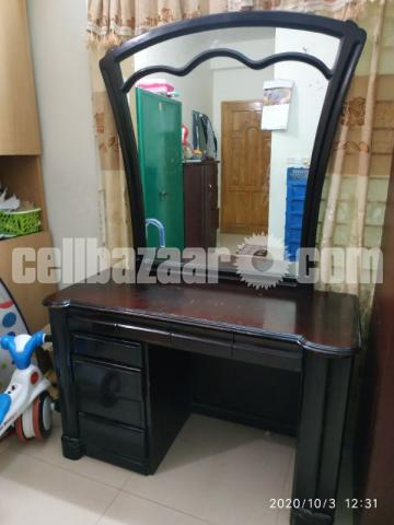 Brothers furniture used wooden dressing table - 1/3