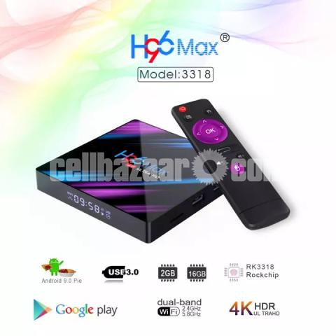 H96 Max Ram 2GB Rom 16G  - 1/3