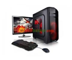 GAMING DESKTOP INTEL CORE i3 17''LED