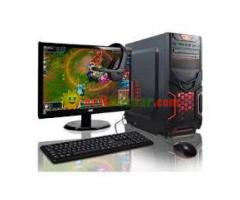 NEW Dual core PC and 17 monitor