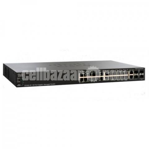 Switch- 24 port Gigabit Managed - 1/1