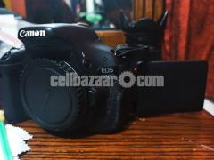 Canon 600D with 18-55mm lens& Yn 50mm prime lens