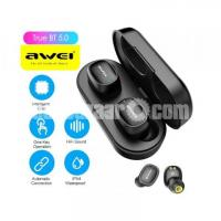 Awei T13 Earbuds Ture Wireless Sports Headset TWS with Charging Case