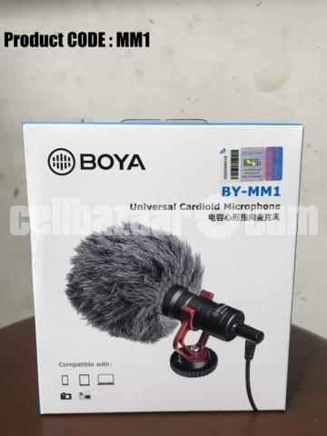 "BRAND NEW ""BOYA BY-MM1"" Universal Cardioid Microphone - 1/2"