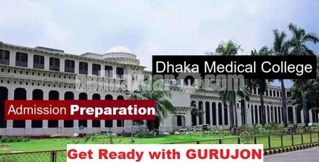 MEDICAL PREPARATION@TUTOR FROM DHAKA MEDICAL COLLEGE - 2/2