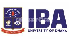 IBA_DU_PREPARATION@TEACHER FROM_IBA_DHAKA UNIVERSITY