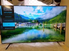 55 inch TU7000 SAMSUNG CRYSTAL 4K UHD TV