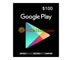 Google Play/iTunes Gift Card