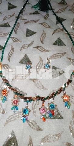 Gorgeous necklace set - 3/5
