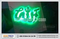 Special Acrylic Letter led lighting sign board with Digital LED Sign for Indoor Outdoor