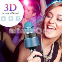 Wireless Microphone Speaker  blutooth and Memory card support