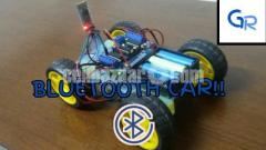 Bluetooth controlled smart car