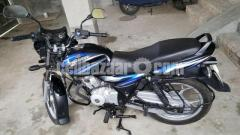 Bajaj Discover 125cc disc black-blue