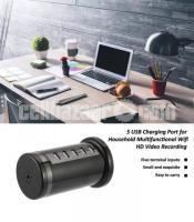 Spy Camera 4K Multifunction USB Charger Adapter Hidden Live Wifi IP Camera