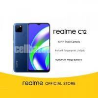 Realme C12 3/32GB 6,000 mAh Battery Official warranty