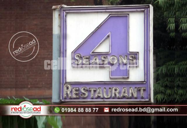 #Neon Sign Board and Neon Lighting #Sign Board with Acp Board Branding For Indoor and - 2/3