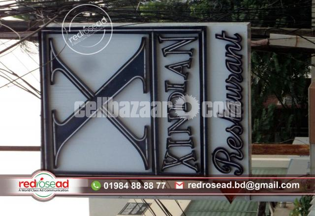 #Neon Sign Board and Neon Lighting #Sign Board with Acp Board Branding For Indoor and - 3/3
