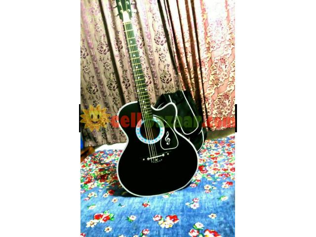 new Acoustic guiter with bag - 1/5