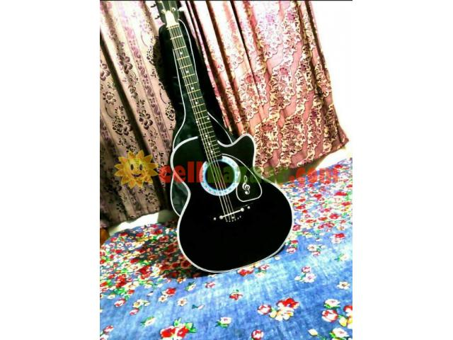 new Acoustic guiter with bag - 3/5