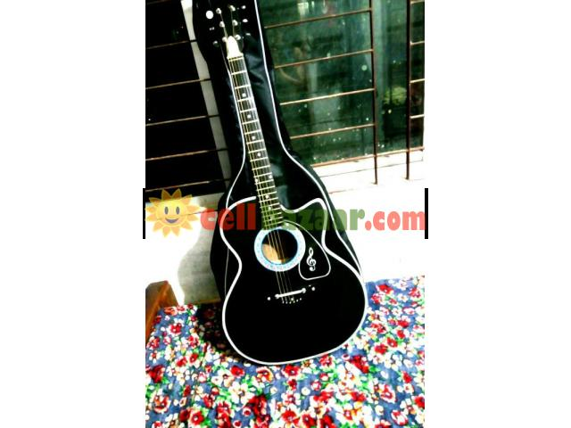 new Acoustic guiter with bag - 5/5