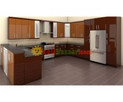 Special kitchen cabinet interior solution