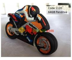 Motorbike shape 64GB Pendrive