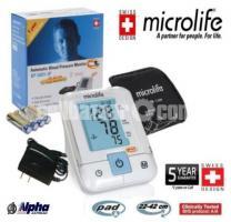 Microlife Automatic Blood Pressure Monitor BP-3AR1-3P