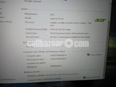 Acer swift laptop
