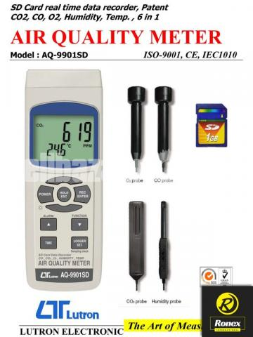 Lutron AQ-9901SD Air Quality Meter in Bangladesh - 5/6