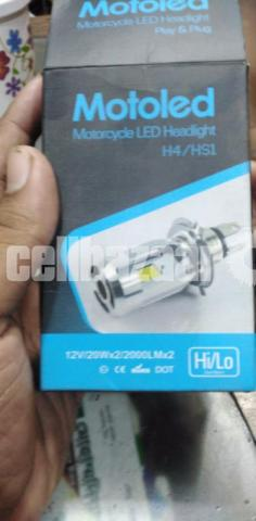 Motoled H4 Motorcycle LED Headlights - 1/3