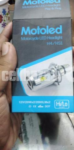 Motoled H4 Motorcycle LED Headlights - 1/3