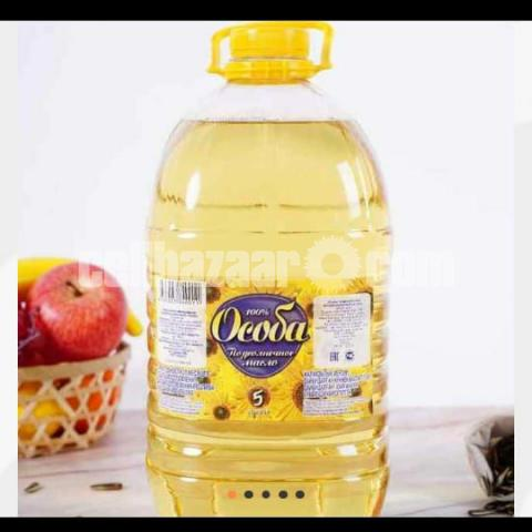 SunFlower Organic Cooking Oil - 1/5