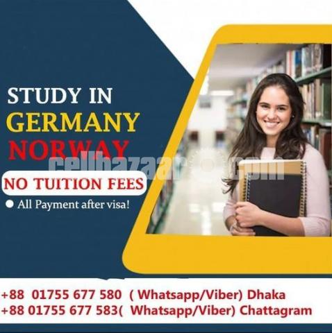 Study In Germany and Norway - 1/1