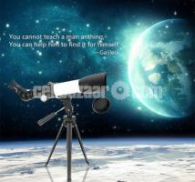 Jiehe High Quality CF350/60mm Monocular Space Astronomical Telescope