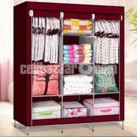 Cloths And Storage Waredrobe (Big) - 1/10